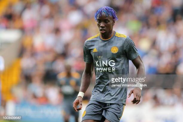 Fousseni Diabate of Leicester City during the preseason match between Notts County and Leicester City at Meadow Lane on July 21 2018 in Nottingham...