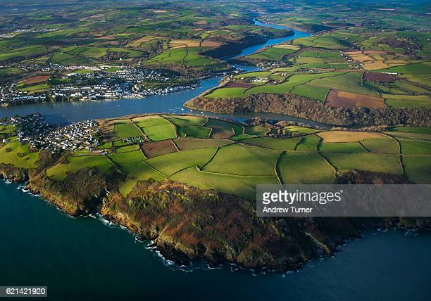 Fowey from above
