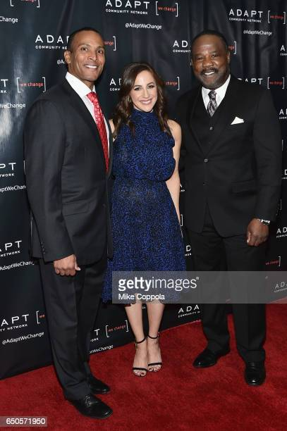 Fox 5 Meteorologist Mike Woods Fox CoAnchor of 'Good Day Wake Up' Teresa Priolo and actor Isiah Whitlock Jr attend UCP of NYC 70th Anniversary Gala...