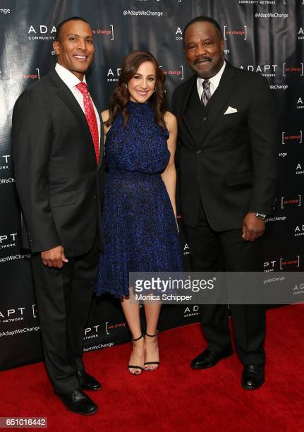 Fox 5 Meteorologist Mike Woods Fox CoAnchor of 'Good Day Wake Up' Teresa Priolo and actor Isiah Whitlock Jr attend the UCP of NYC 70th Anniversary...