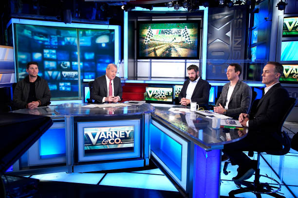 "NY: NASCAR Cup Series Championship 4 Drivers Visit ""Varney & Co."""