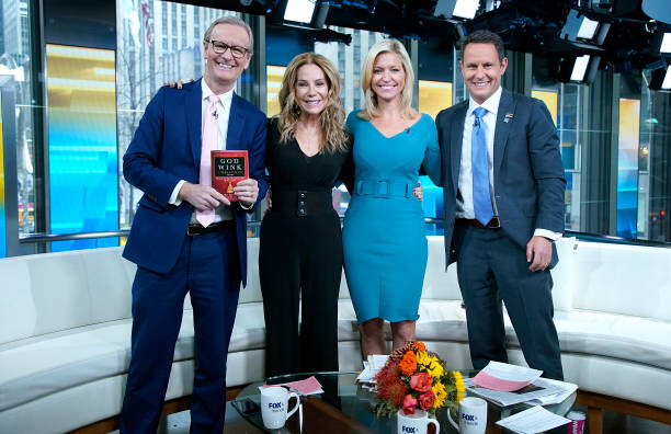 "NY: Kathie Lee Gifford Visits ""Fox & Friends"""