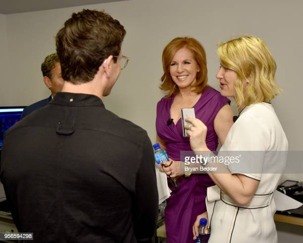 Fox Business Network Anchor Liz Claman and Artemis Strategies Founder Hildy Kuryk attend the Fifth Annual Town Country Philanthropy Summit on May 9...