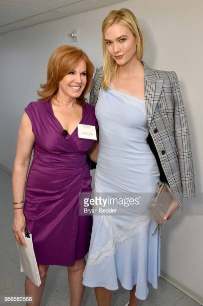 Fox Business Network Anchor Liz Claman and Model and Kode With Klossy Founder Karlie Kloss attend the Fifth Annual Town Country Philanthropy Summit...