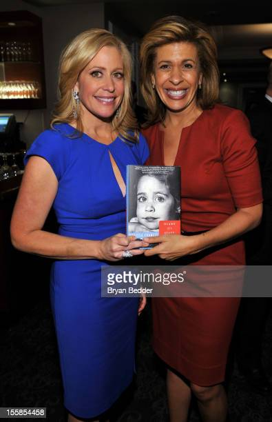 Fox Business Network anchor Melissa Francis and coanchor of the fourth hour of the Today Show Hoda Kotb attend Melissa's book Diary of a Stage...
