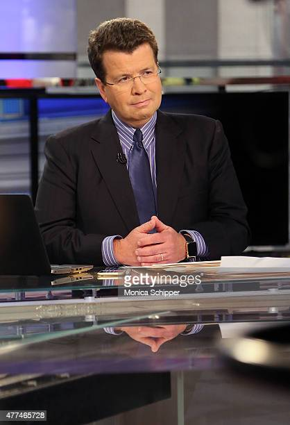 """Fox Business Network anchor Neil Cavuto, speaks with Paul Volcker, when he visits FOX Business Network's """"CAVUTO: Coast To Coast"""" at FOX Studios on..."""