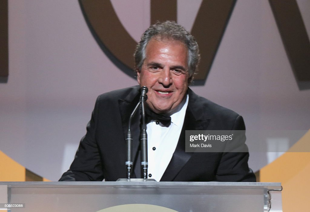 Fox Chair and CEO Jim Gianopulos accepts the Milestone Award onstage at the 27th Annual Producers Guild Awards at the Hyatt Regency Century Plaza on January 23, 2016 in Century City, California.