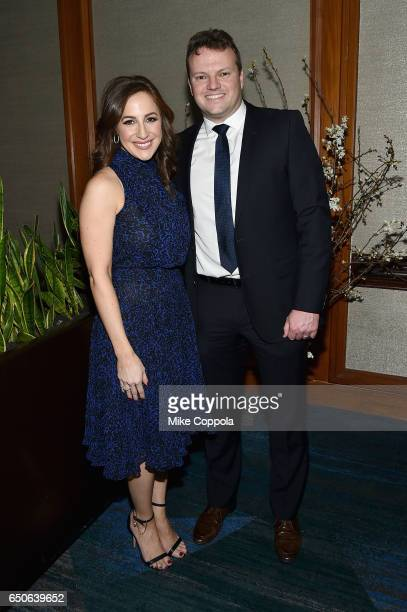 Fox CoAnchor of 'Good Day Wake Up' Teresa Priolo and Executive Producer of 'Good Day Wake Up' Lamar Goering attend UCP of NYC 70th Anniversary Gala...