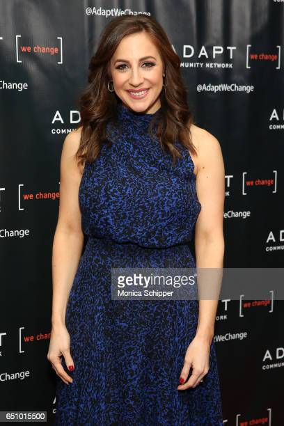 Fox CoAnchor of 'Good Day Wake Up' Teresa Priolo attends the UCP of NYC 70th Anniversary Celebration Gala at New York Hilton Midtown on March 9 2017...