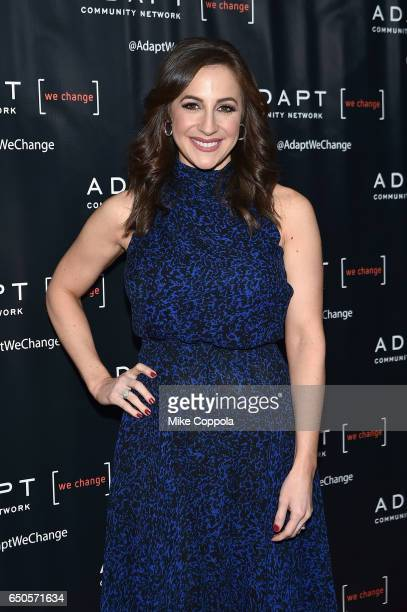Fox CoAnchor of 'Good Day Wake Up' Teresa Priolo attends UCP of NYC 70th Anniversary Gala on March 9 2017 in New York City