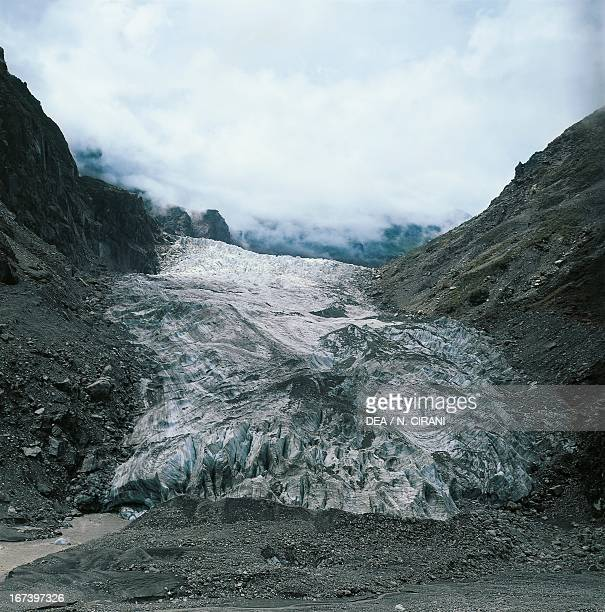 Fox Glacier Westland National Park South Island New Zealand