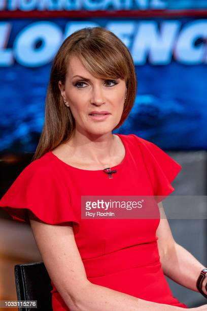 Fox host Dagen McDowell as Bethenny Frankel visits Fox Business Network at Fox Business Network to discuss Hurricane Florence Studios on September 14...