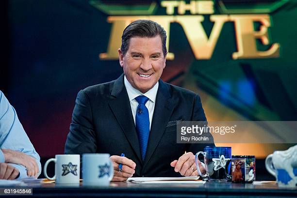 Fox HostÊEric Bolling sits on the panel of Fox News Channel's 'The Five' as pundit Bob Beckel rejoins the show at FOX Studios on January 17 2017 in...