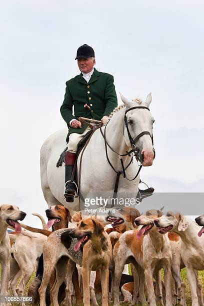 Fox Hunting Horseman & Hounds, England