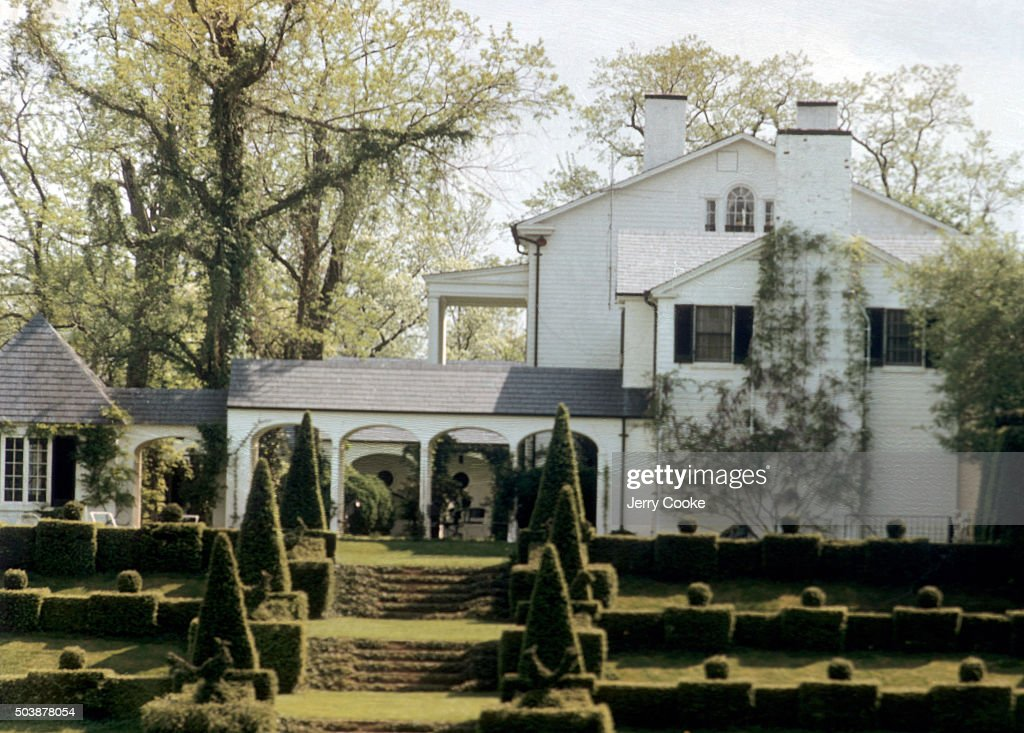 Scenic View Of Topiary Gardens In Front Of Renovated Farmhouse At News Photo Getty Images