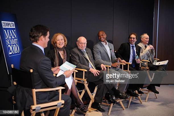Fox News Anchor Bill Hemmer professor Kathleen Gerson professor Lionel Tiger author Wes Moore author Ian Kerner and Doctor William S Pollack attend...