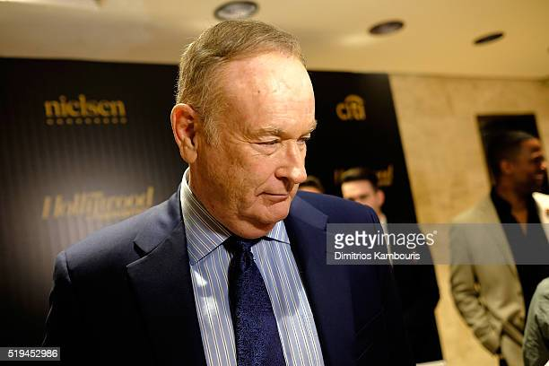 Fox News anchor Bill O'Reilly attends The Hollywood Reporter's 5th Annual 35 Most Powerful People in New York Media on April 6 2016 in New York City