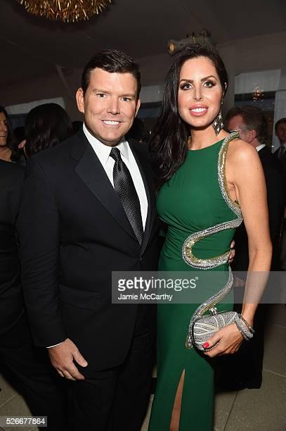 Fox News Anchor Bret Baier and Amy Baier attend the Atlantic Media's 2016 White House Correspondents' Association PreDinner Reception at Washington...