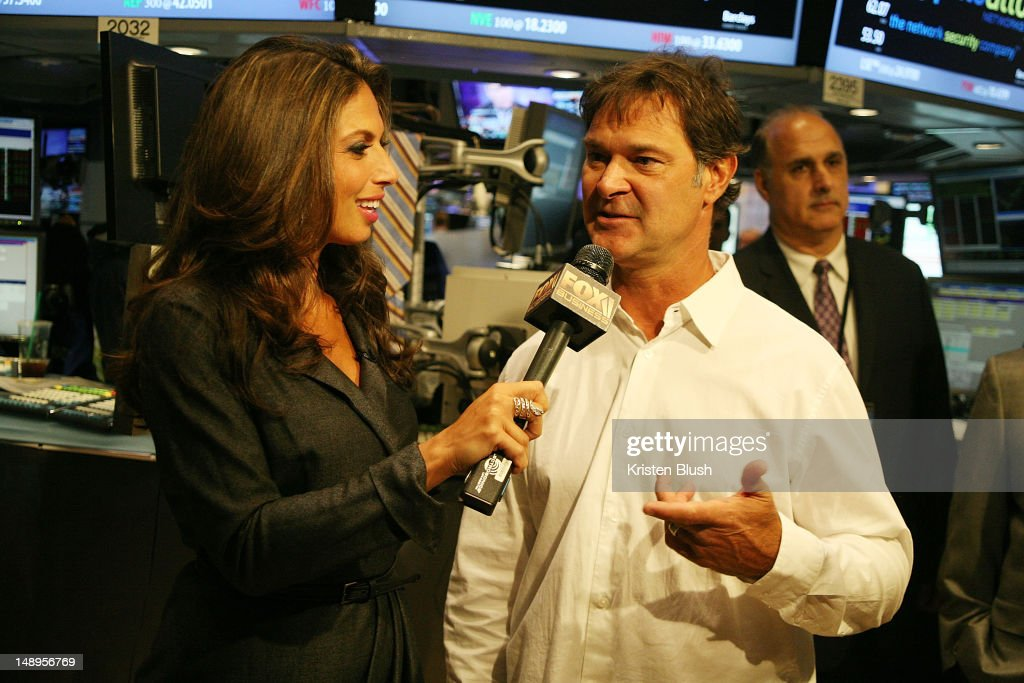 Fox News Anchor Nicole Petallides and Los Angeles Dodgers
