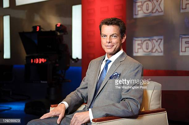 Fox News anchor Shepard Smith on the set of Studio B with Shepard Smith at Fox News studios in New York Fox News Channel celebrated its 15th...