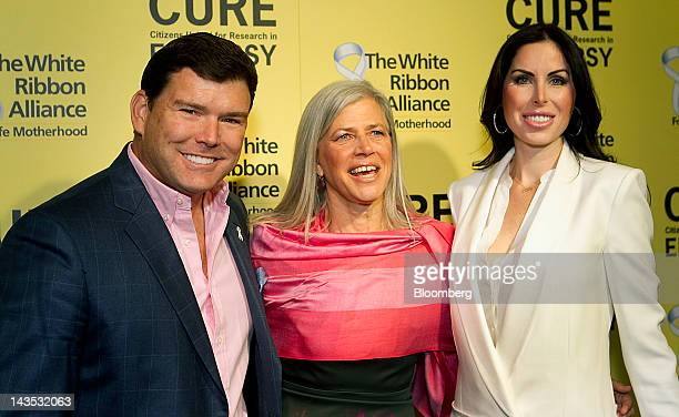 Fox News Channel personality Bret Baier left Susan Axelrod chair and founding member of Citizens United for Research in Epilepsy and Bret's wife Amy...