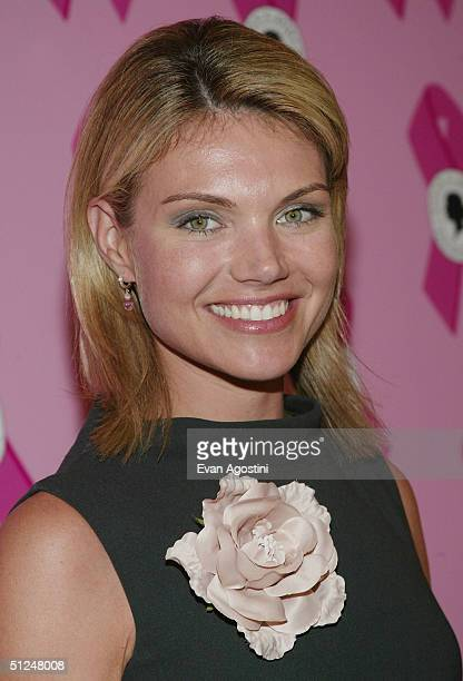 Fox News correspondent Heather Nauert attends a Susan B Komen Breast Cancer Foundation Benefit on August 30 2004 at Bergdorf Goodman in New York City