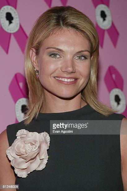 Fox News correspondent Heather Nauert attends a Susan B Komen Breast Cancer Foundation Benefit on August 30 2004 at Bergdorf Goodman in New York City