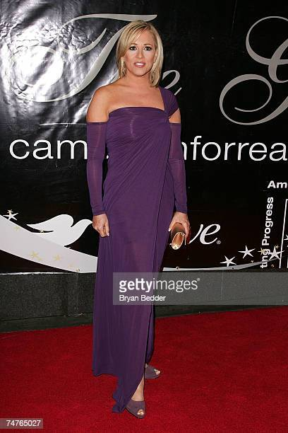 Fox news correspondent Jamie Colby arrives at the 32nd Annual Gracie Awards at Marriott Marquis June 18 2007 in New York City
