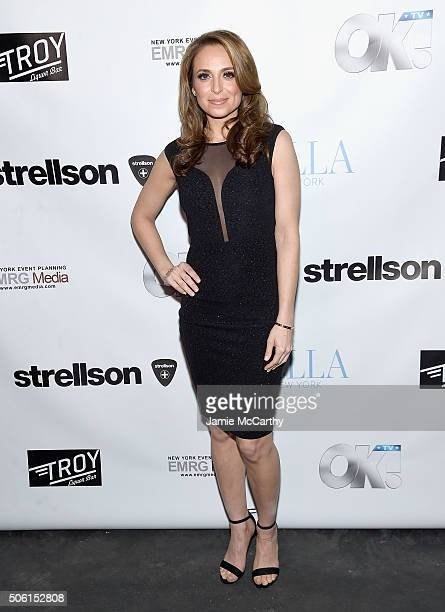 Fox News Correspondent Jedediah Bila attends the BELLA New York Lance Bass Cover Launch Party at Troy Liquor Bar on January 21 2016 in New York City