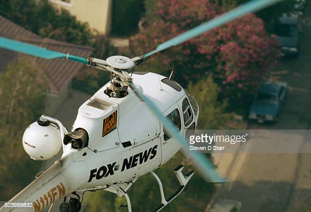 Fox News Helicopter in Flight