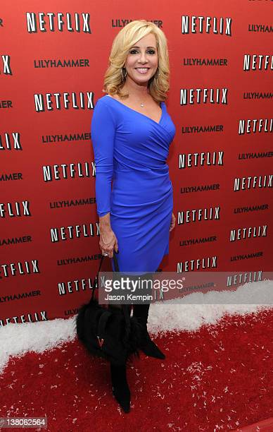 Fox News personality Jamie Colby attends the North American Premiere Of Lilyhammer a Netflix Original Series at Crosby Street Hotel on February 1...