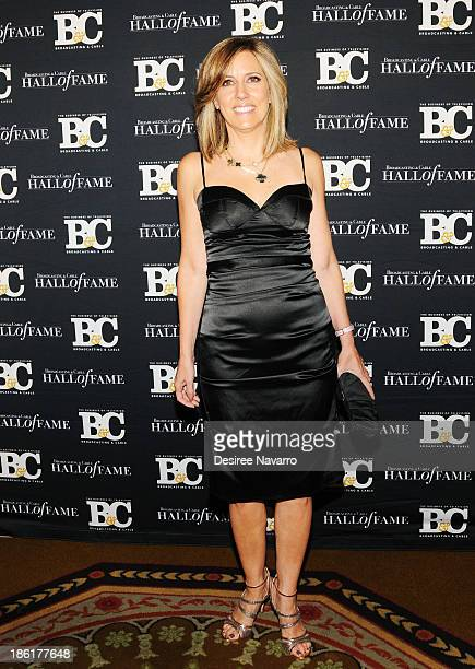 Fox News TV anchor Alisyn Camerota attends the Broadcasting And Cable 23rd Annual Hall Of Fame Awards dinner at The Waldorf Astoria on October 28...