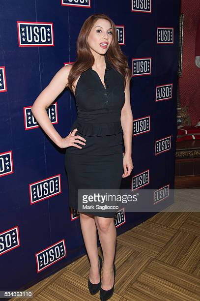 Fox Reporter Diana Falzone attends the Official 2016 Fleet Week KickOff at Hard Rock Cafe Times Square on May 25 2016 in New York City
