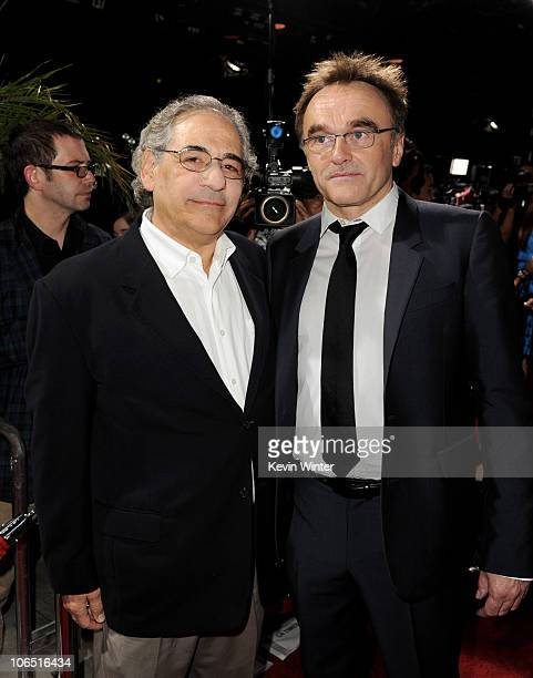 Fox Searchlight Copresident Steve Gilula and director Danny Boyle arrive at the premiere of Fox Searchlight Pictures' 127 Hours at the Samuel Goldwyn...