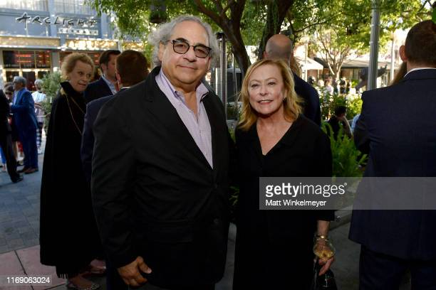 Fox Searchlight Pictures Chairmen Stephen Gilula and Nancy Utley attend the LA Screening Of Fox Searchlight's Ready Or Not at ArcLight Culver City on...