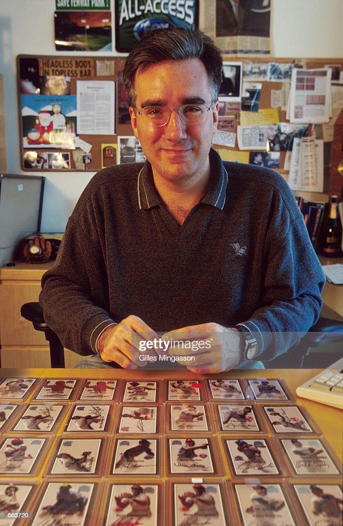 Fox Sports Broadcaster Keith Olbermann : News Photo