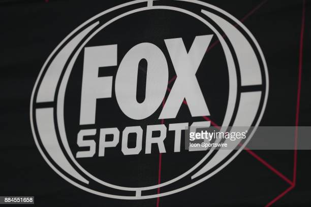 Fox Sports Logo during a college football game between the Oklahoma Sooners and the Texas Christian Horned Frogs on December 2 at ATT Stadium in...