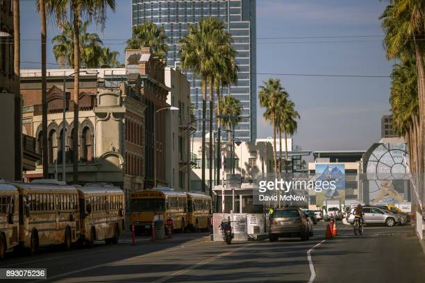 Fox Studios backlots are seen after the Walt Disney Company announced that it will acquire 21st Century Fox on December 14 2017 in Los Angeles...