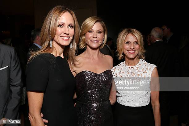 Fox Television Group Chairman/CEO and honoree Dana Walden actress Julie Bowen and The Alliance for Children's Rights President and CEO Janis Spire...