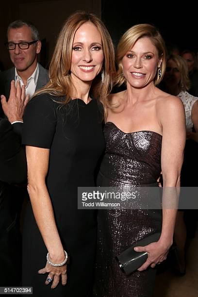 Fox Television Group Chairman/CEO and honoree Dana Walden and actress Julie Bowen attend the Alliance for Children's Rights' 24th annual dinner at...