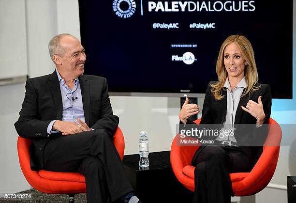 Fox Television Group coCEOs Gary Newman and Dana Walden participate in The Paley Center for Media presents Dana Walden and Gary Newman In...