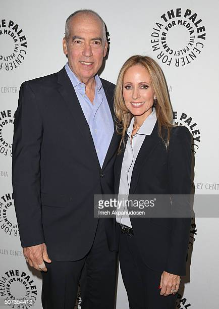 Fox Television Group CoChairs/CEOs Gary Newman and Dana Walden attend Paley Dialogues LA at The Paley Center for Media on January 28 2016 in Beverly...
