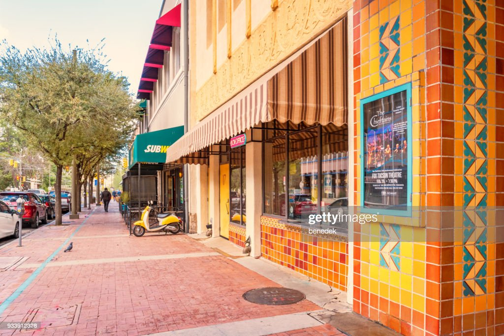 Fox Theater in the downtown entertainment district in Tucson Arizona : Stock Photo