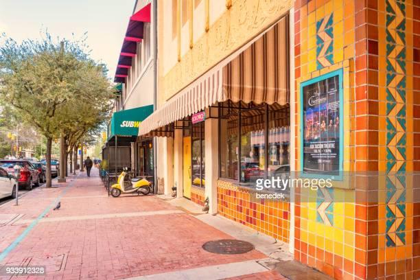 Fox Theater i downtown nöjesdistriktet i Tucson Arizona