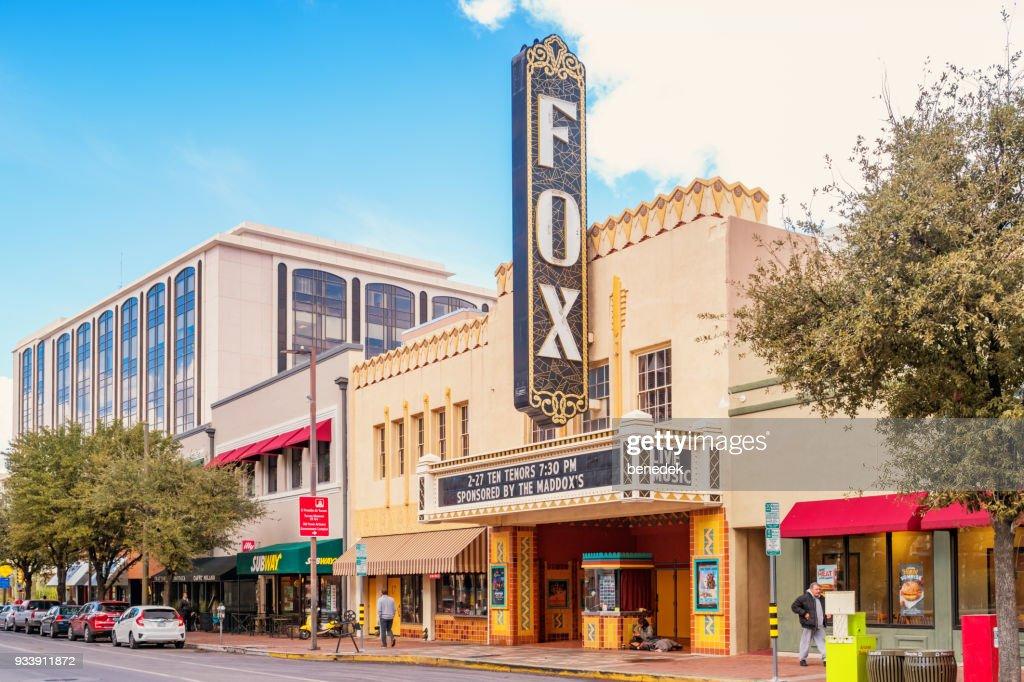 Fox Theater in the entertainment district Tucson Arizona : Stock Photo