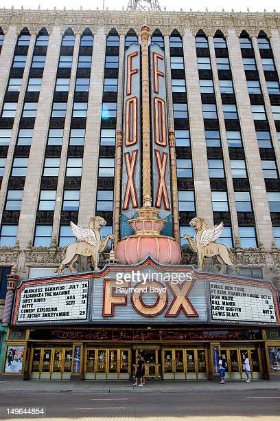 Fox Theatre, in Detroit, Michigan on JULY 21, 2012.