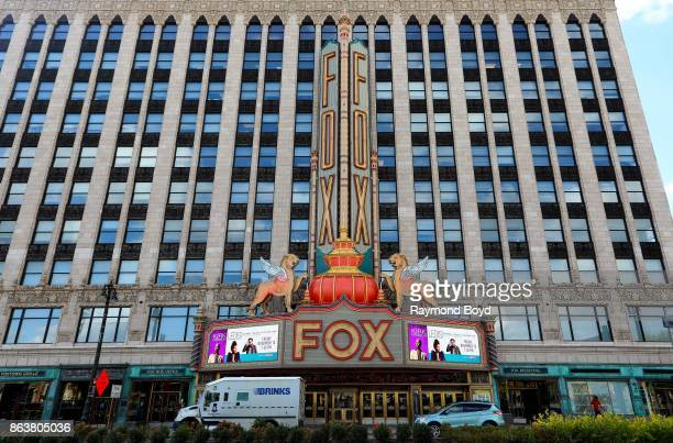 Fox Theatre in Detroit Michigan on October 13 2017