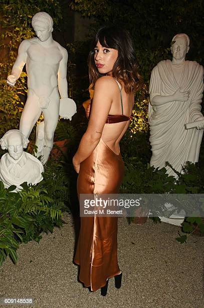 Foxes attends the launch party hosted by Christopher Bailey and Jefferson Hack to celebrate the Burberry and Dazed cover featuring Jean Campbell at...