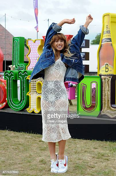 Foxes attends the press launch ahead of the Barclaycard British Summer Time 2015 gigs at Hyde Park on June 17, 2015 in London, England.
