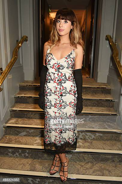 Foxes attends The Q Awards drinks reception at The Grosvenor House Hotel on October 19, 2015 in London, England.